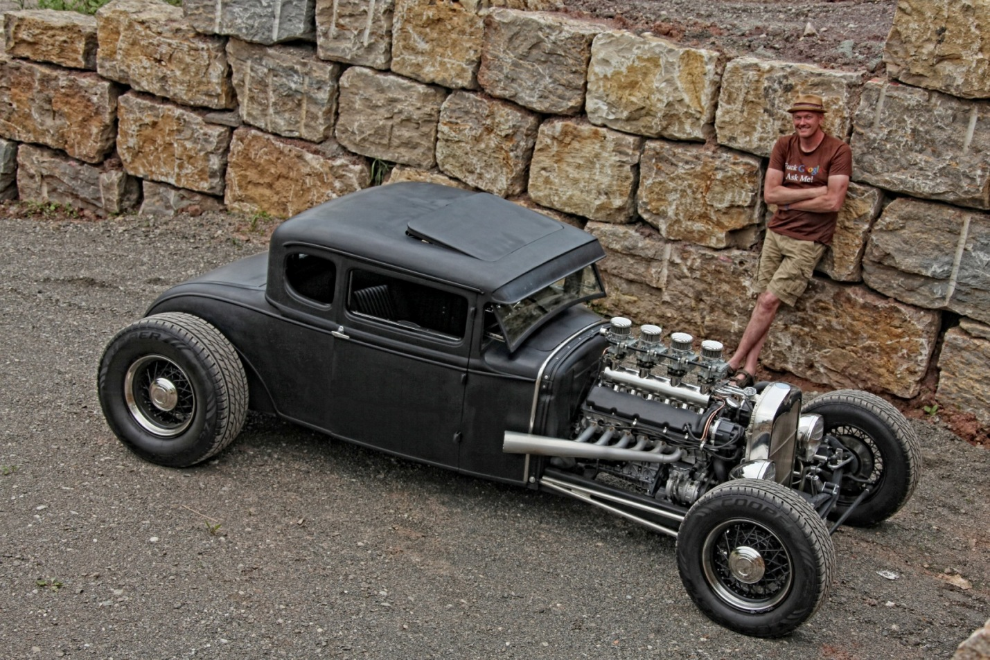30er Ford Model A Coupe Rat Rod