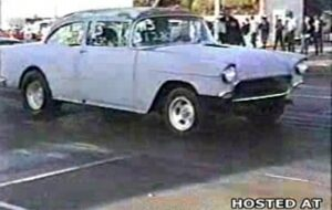 Luckiest Man on the Planet in a Chevy `55