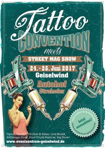 Tattoo Convention Street Mag Show Geiselnwind