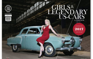 GIRLS & LEGENDARY US-CARS 2017 KALENDER