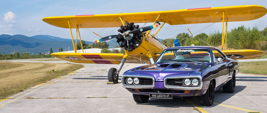 70er Dodge Super Bee Hardtop Coupe