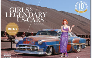 DER GIRLS & LEGENDARY US-CARS 2018 KALENDER