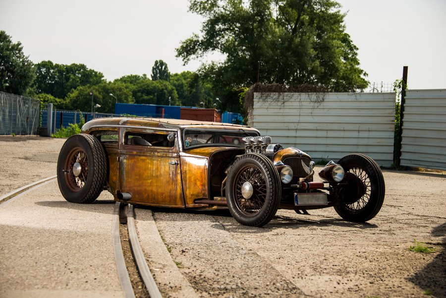 32er Ford Tudor Sedan Rat Rod