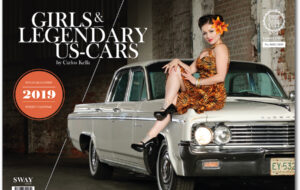Der Girls & legendary US-Cars 2019 Kalender