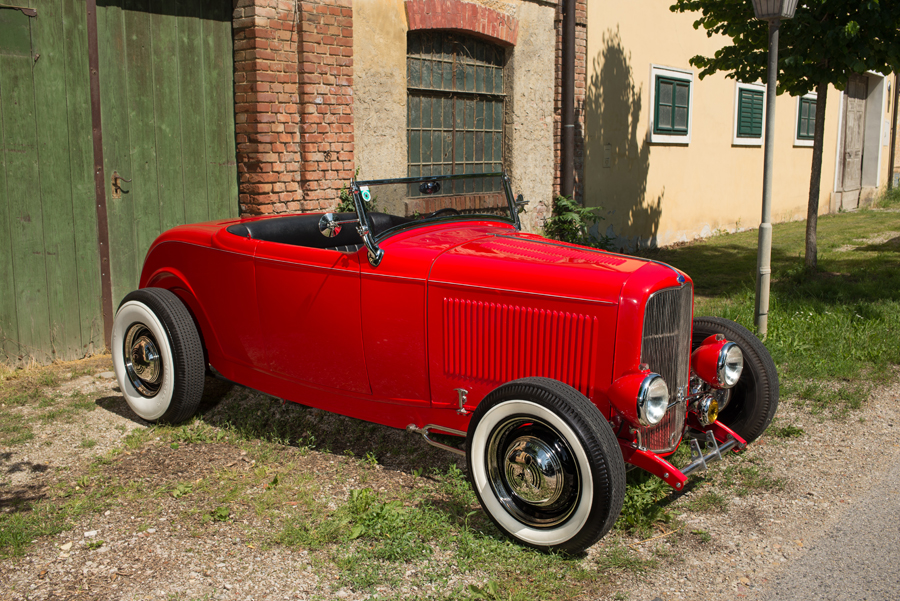 32er Ford Model B Roadster Highboy Rod