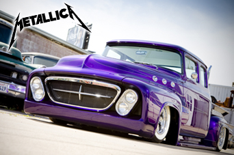 56er Ford Pickup von Metallica